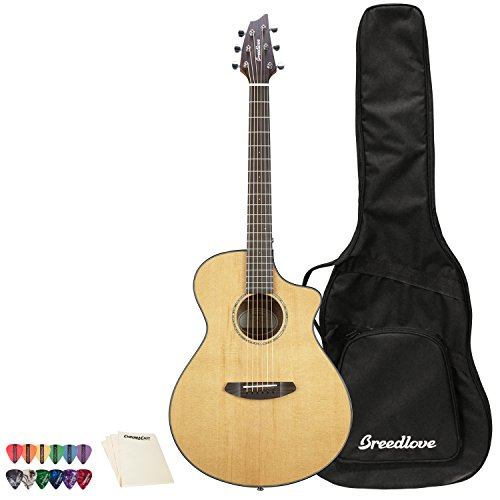 Breedlove Pursuit Concert CE Red Cedar-Mahogany Acoustic-Electric Guitar
