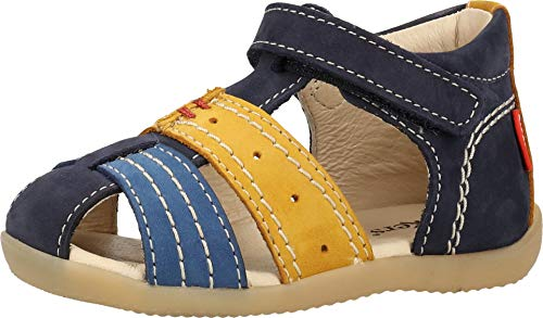 Kickers 786420-10 - Sandalias para niño, Color Azul, Talla 23 EU