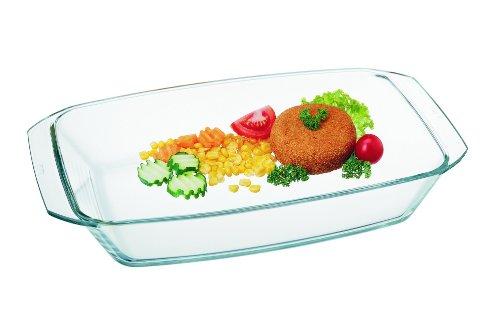 Simax Glassware Simax Heatproof, 4L rectangular dish, one size, clear