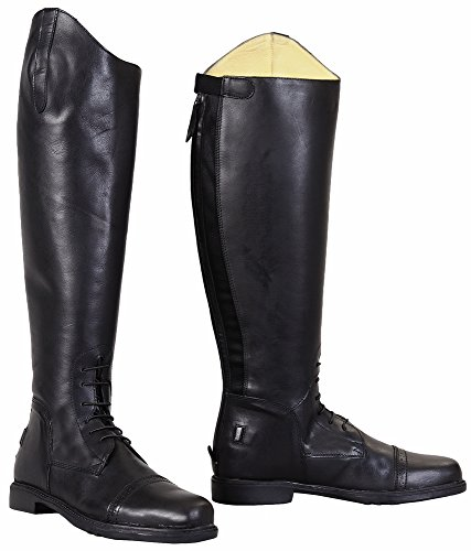 TuffRider Herren Barock Field Boots, Schwarz, 105breit