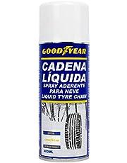 GOOD YEAR GOD8030 Cadena líquida Nieve para neumáticos en Spray de 400 ML Marca Goodyear