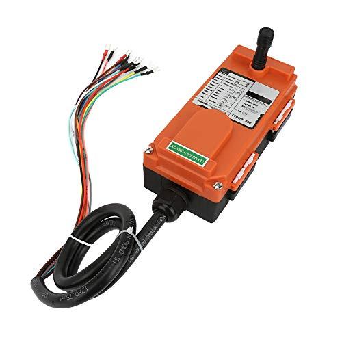 Polipasto Sistema Radio Control 8 Botones 380V Control Remoto 2 Transmisor 1 Receptor para Control Industrial