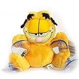 Garfield Muñeco Peluche Gato Clasico 15cm con 4 Ventosas