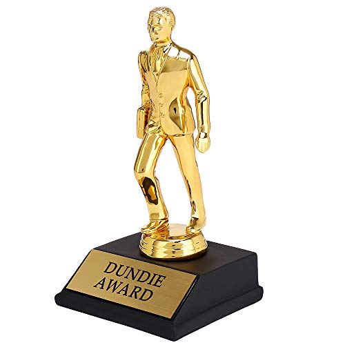 Enoch Dundie Award Trophy For Dunder Mifflin The Office Merchandise for Office Fans