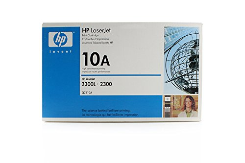 Original HP Q2610A/10A Toner Black für HP LaserJet 2300 DN
