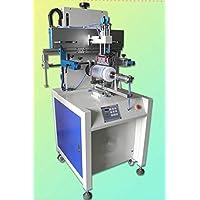 GOWE Tiffin serigrafía máquina automática, pantalla cuver moreinks, recipiente impresión máquina 1 color