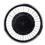 SALUTUYA Rueda Ebike Panel Kit 48V 500W Motor de Potencia, para Bicicleta eléctrica, con Controlador Potente, con palancas de Freno(Rear Drive Card Fly)