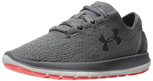 Under Armour Men's Speedform Slingride 1.1 Running Shoe, Graphite (101)/Black, 8