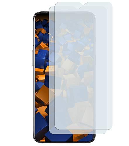 mumbi Schutzfolie kompatibel mit OnePlus 7 Folie klar, Bildschirmschutzfolie (2x)