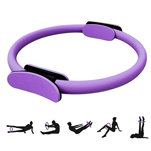 Anello da Pilates Pilates Circle Cerchi per Pilates Cerchia di Pilates Ring Pilates Cerchio Pilates Ring Anello Yoga Ring Anelli per Allenamento Anello di Resistenza, Yoga, Palestra 37CM 15Pollice