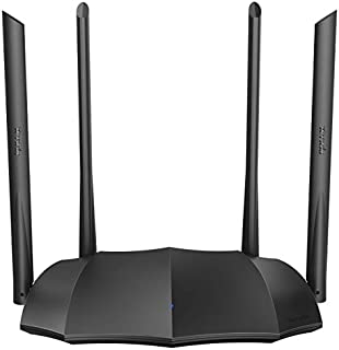 Tenda AC1200 Dual Band Gigabit Smart WiFi Router, 5Ghz High Speed Wireless Internet Router, MU-MIMO, Beamforming, Long Range Coverage by 4x6dBi Antenna, IPv6, Guest WiFi, AP Mode - 2020 New Upgraded