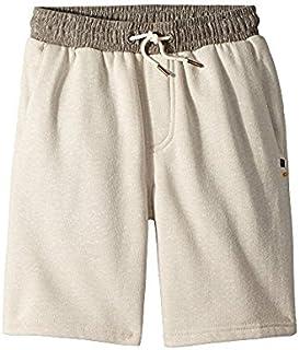 リップカール Rip Curl Kids キッズ 男の子 ショーツ 半ズボン Off-White Sea Side Fleece Shorts (Big Kids) [並行輸入品]