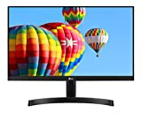 LG 22MK600M Monitor, 22 Pollici, LED IPS Full HD 1920 x 1080, 5 ms, Radeon FreeSync 75 Hz, Multitasking, VGA, HDMI, Borderless
