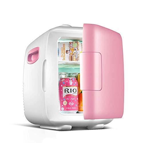 GONGFF Mini refrigerador 4L / 8L refrigerador de refrigeración pequeño para el hogar de Doble Uso...