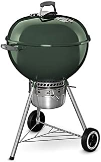 Weber 14407001 Original Kettle Premium Charcoal Grill, 22-Inch, Green