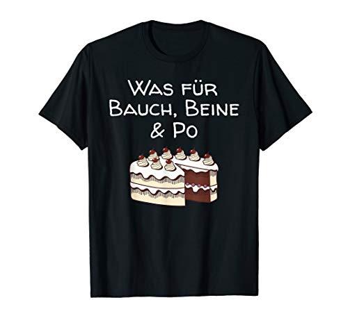 Lustiges Geschenk für Schwarzwälder Was Für Bauch Beine & Po T-Shirt