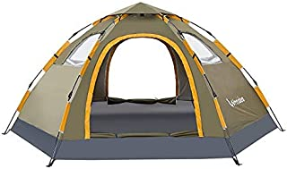 Wnnideo Pop Up Camping Tent 2/4/6 Person Family Portable...