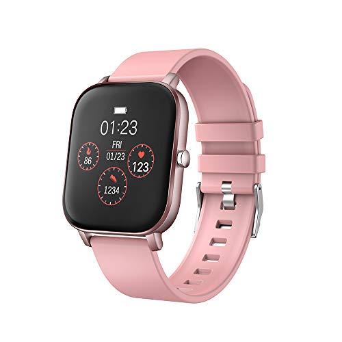 moreFit Smartwatch Fitness Armband Uhr mit Pulsuhr 1,4 Zoll Touchscreen Sportuhr Smartwatch Damen Herren mit Aktivitätstracker Schlafmonitor Musiksteuerung Romte Capture