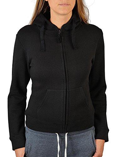 Unbekannt Damen Jacke mit Zip Hunde Motiv Zip-Hoodie Mädchen The Rottweiler für Hundehalter Zip-Jacke für Frauen Dog Hund Hundesport