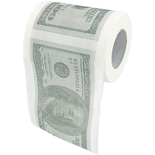 Fairly Odd Novelties USA Money Novelty Toilet Paper, White
