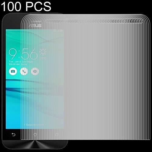 JIXIAO Accesorios for Boutique 100 PCS 0.26mm 9H 2.5D Película de Vidrio Templado for ASUS ZenFone Go / ZB452KG