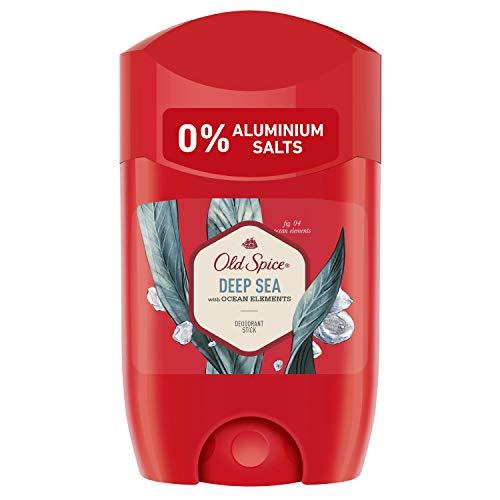 Old Spice Deep Sea Deodorant Stick, 50ml, Deo Stick Ohne Aluminium Für Männer, Männer Deo Mit Langanhaltendem Duft