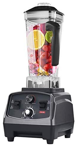 LHAHGLY Blender Smoothie Maker, 2200W Procesador de Alimentos comerciales 4 Flick Presets, BPA Lanzador de Tritan Tamper licuadoras para zumos
