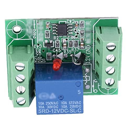 CANAL DC Latching Relay Módulo 12V con interruptor de biestable Touch MCU Control DC Relay Module 1pc