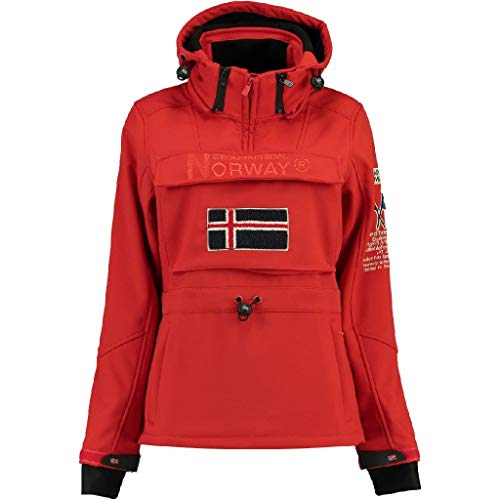 Geographical Norway, Giacca Softshell da bambina, TILSIT, colore rosso 10