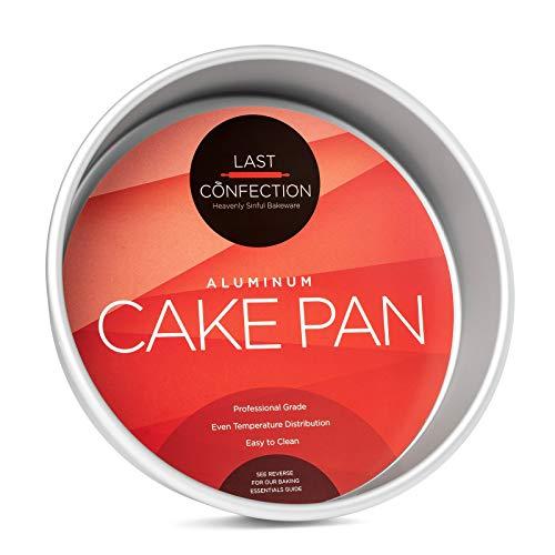Last Confection 9' x 2' Deep Round Aluminum Cake Pan - Professional Bakeware
