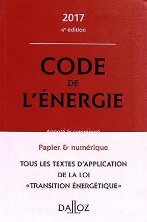Code de lénergie annoté & commenté
