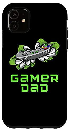 iPhone 11 Worlds Best Dad Ever Gamer Dad Controller Monster Design Case