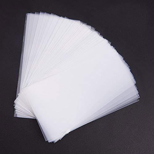 Pandahall Elite 600 Bolsas de celofán de 15 x 8 cm, Transparente, Bolsas para Joyas Galletas Pastelería, Rectángulare, Aprox. 600 Unidades/Bolsa