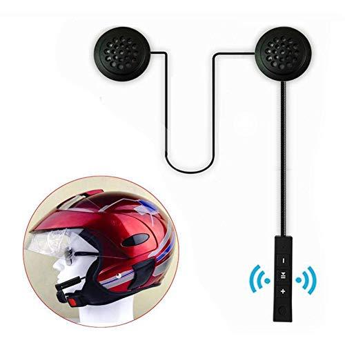 lingzhuo-shop Motorfiets Bluetooth helm headset waterdicht voor scooters en motorfietsen Anti-interferentie met grote toetsen Compact met luidspreker hoofdtelefoon voor motorfiets skiën