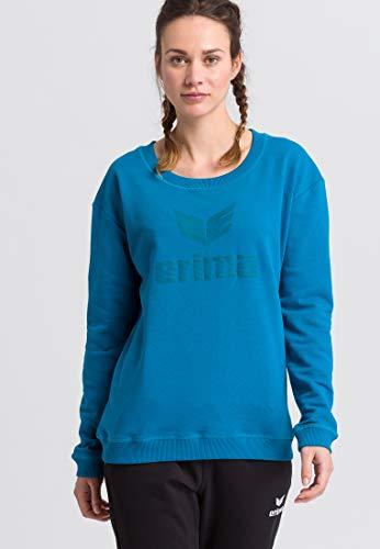 Erima GmbH Essential Sudadera Essential, Mujer, Oriental Blue/Colonial Blue, 48
