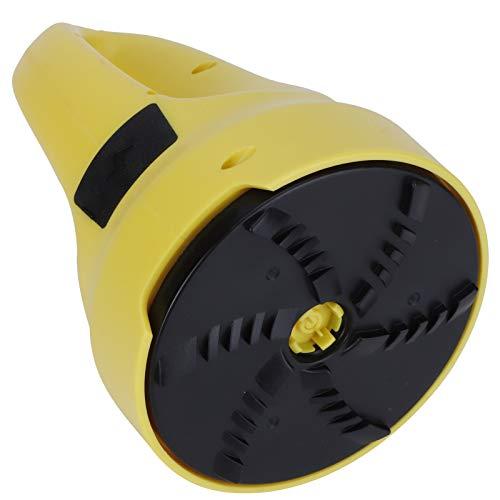 SANON Electric Ice Scraper USB Rechargeable Round Windshield Scraper Funnel Snow Removal Shovel Tool