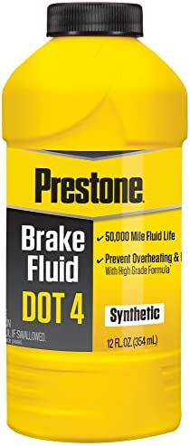 Prestone AS800Y DOT 4 Synthetic Brake Fluid – 12 oz.