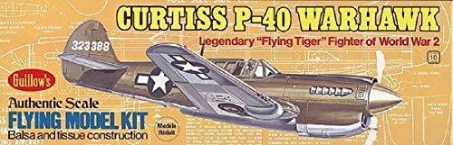 Krick Curtiss P-40 Warhawk Balsabausatz