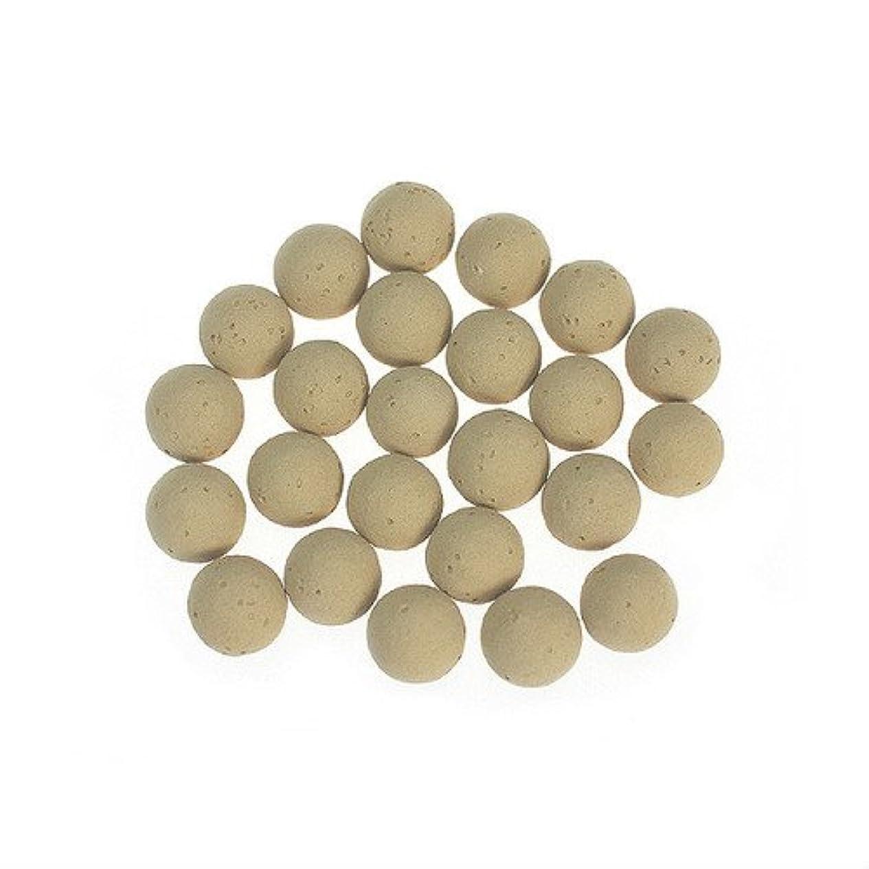 天国想像する遺棄されたころころ香ポット 交換用素焼きボール(24個入)