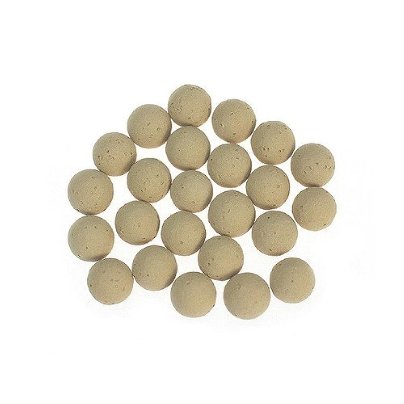 体現する知覚する考案するころころ香ポット 交換用素焼きボール(24個入)