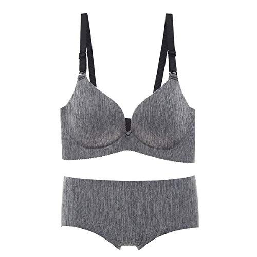 Crystallly Dames-bh set comfortabele stoffen om de beha in eenvoudige stijl aan te passen mode elegante normale lakken mouwloos push-up ondergoed lingerie set