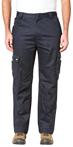 Caterpillar Flame Resistant Cargo Pant, Flame Resistant Navy, 36W x 34L