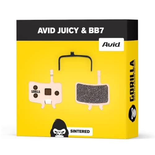 Avid Juicy Bremsbeläge 3 5 7 Carbon Ultimate & Avid BB7 für Fahrrad Scheibenbremse I Gesintert I Hohe Bremsleistung I Langlebiger & Passgenauer Bremsbelag