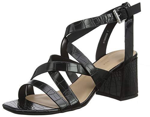 New Look Damen Snapper Sandalen, Schwarz (Black 1), 39 EU