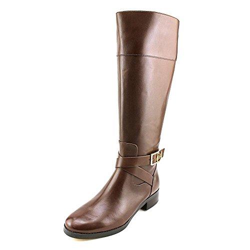Michael Michael Kors Women's Bryce Tall Boot Mocha Vachetta Leather 7 M