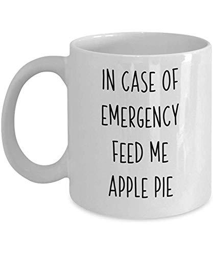 Trek me appeltaart-koffiemok een Amerikaanse voedselliefhebber thee-schaaltjes voedselvriendelijk cadeau-fijnproever-verjaardagscadeau