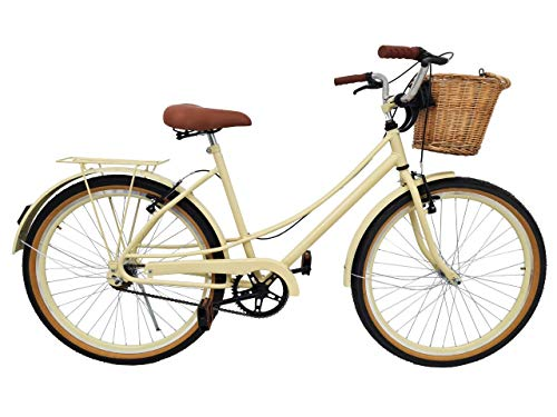 Bicicleta Vintage Retro Food Bike Antiga Ceci Linda (Creme)