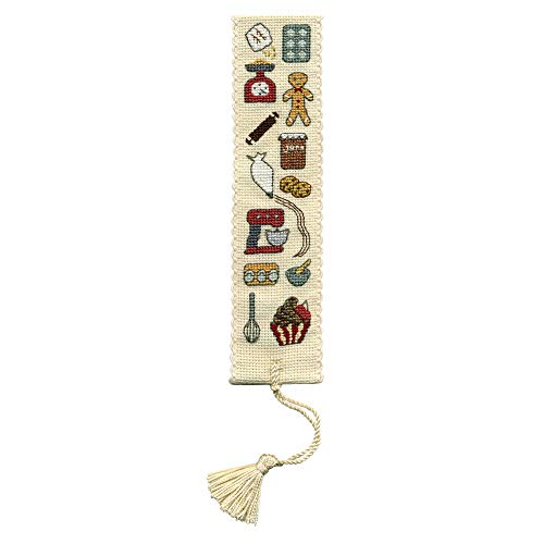 Textile Heritage Baking Bookmark - Counted Cross Stitch Kit