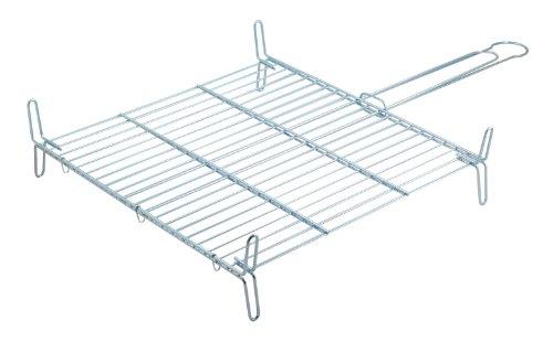 Metaltex - Parrilla doble especial, 50 x 50 centímetros