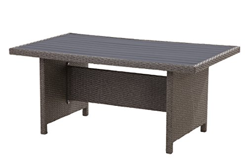 "Hohe Dining Poly Rattan Lounge ""Havanna"" inkl. Kissen - 6"